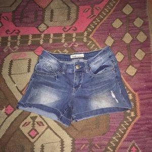 Pants - Distressed Jean Shorts Size 4